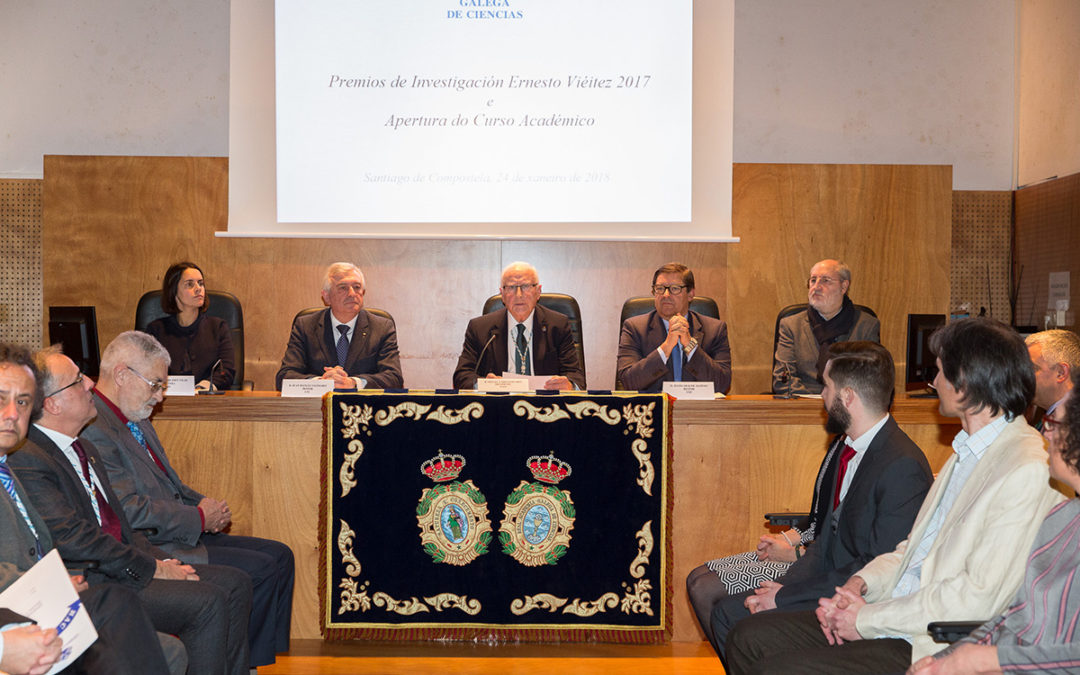 Acto de entrega de los premios Ernesto Viéitez y Apertura del curso 2018