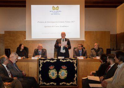 Apertura do curso 2018 e entrega dos Premios Ernesto Viéitez 2017