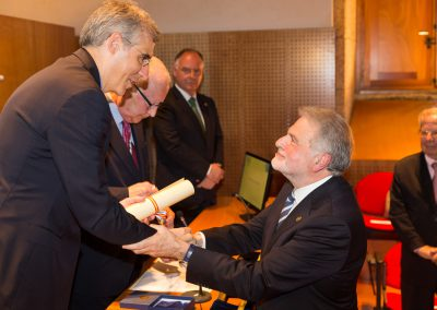O Prof. Dr. D. Luis Caramés Viéitez, novo Académico Numerario da RAGC