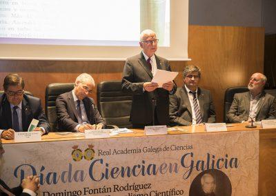 Día da Ciencia en Galicia 2018. Domingo Fontán