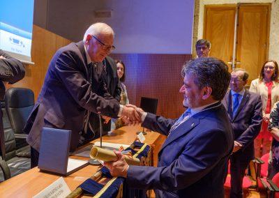 O Prof. Dr. D. José Antonio Redondo López, novo Académico Numerario da RAGC
