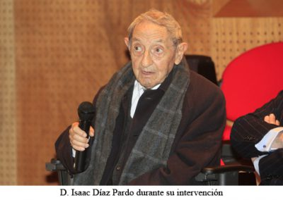 Ingreso como Académico de Honra de D. Isaac Díaz Pardo