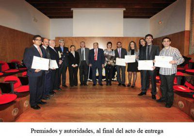 Premios de investigación da RAGC 2011