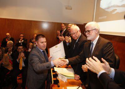 Entrega dos Premios de Investigación Ernesto Viéitez 2014