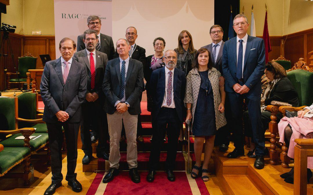 Entrega de los Premios Viéitez Cortizo y las Medallas de Investigación de la RAGC 2019
