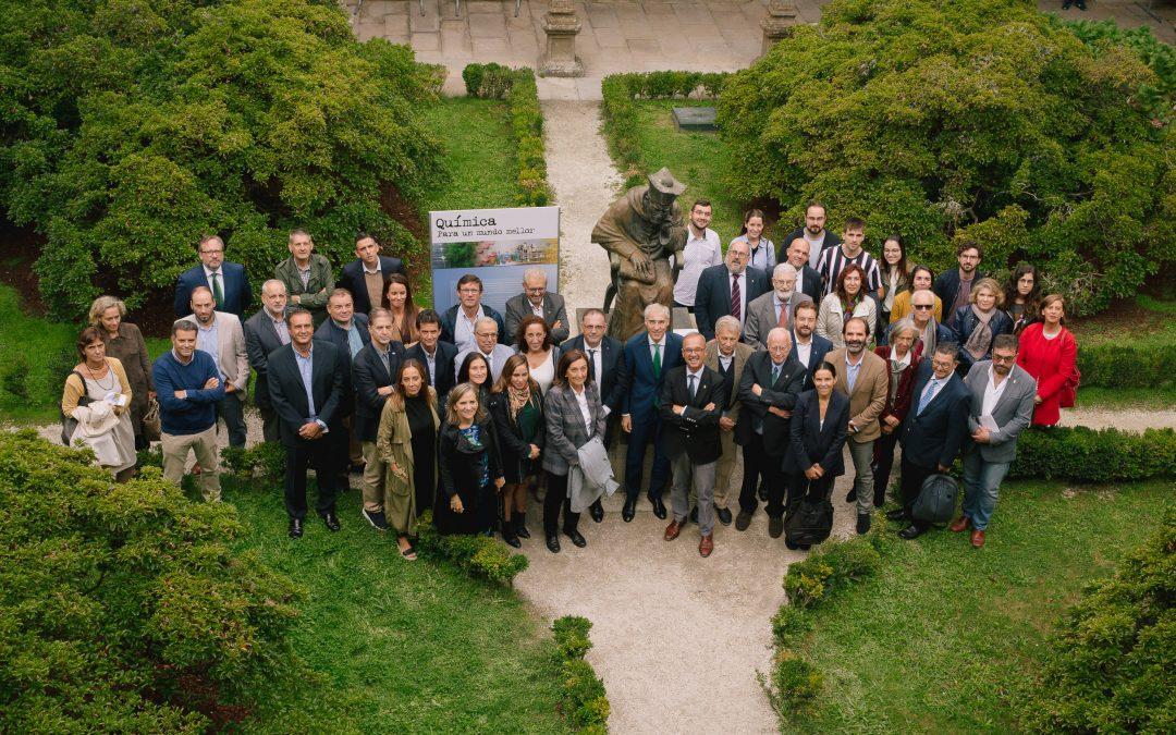 Inauguramos la exposición «Química para un mundo mejor» en el Colegio Fonseca de la USC