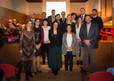 Entrega premios de transferencia e xornalismo 2019