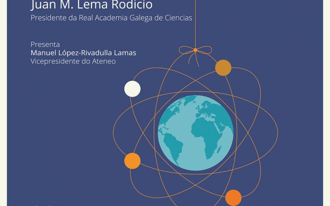 El presidente de la RAGC impartirá la conferencia «Química para un mundo mejor»
