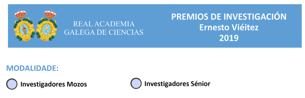 Convocados los Premios de Investigación Ernesto Viéitez