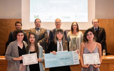 Entrega del VI Premio «Contar a Ciencia-La Caixa»