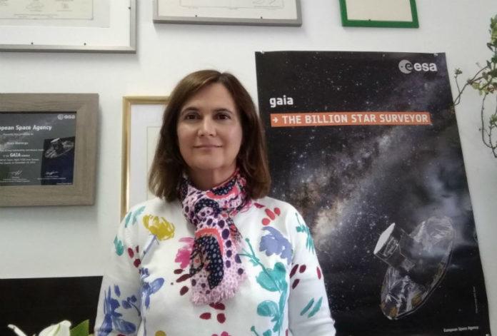 A Catedrática de Astrofísica Minia Manteiga ingresa na RAGC