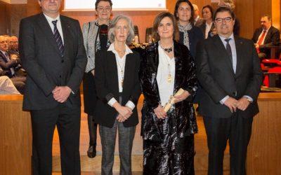 Ingreso de la Prof. Dra. Minia Manteiga en la Real Academia Galega de Ciencias