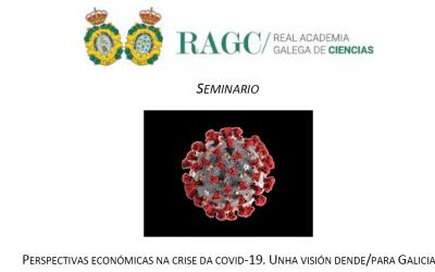 Perspectivas económicas da covid-19. Unha visión dende/para Galicia