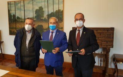Sinatura de convenio entre a RAGC e a Deputacion de Lugo