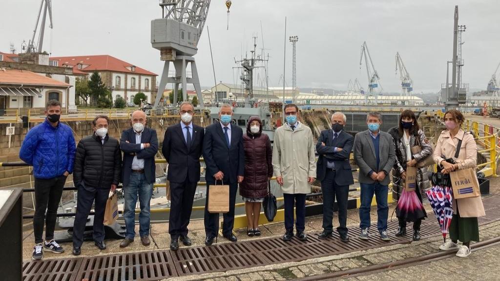 """Presentación do """"roteiro Comerma"""" en Ferrol"""