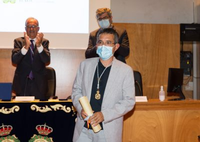 O Prof. Dr. D. Fiz Fernández, novo Académico Numerario da RAGC