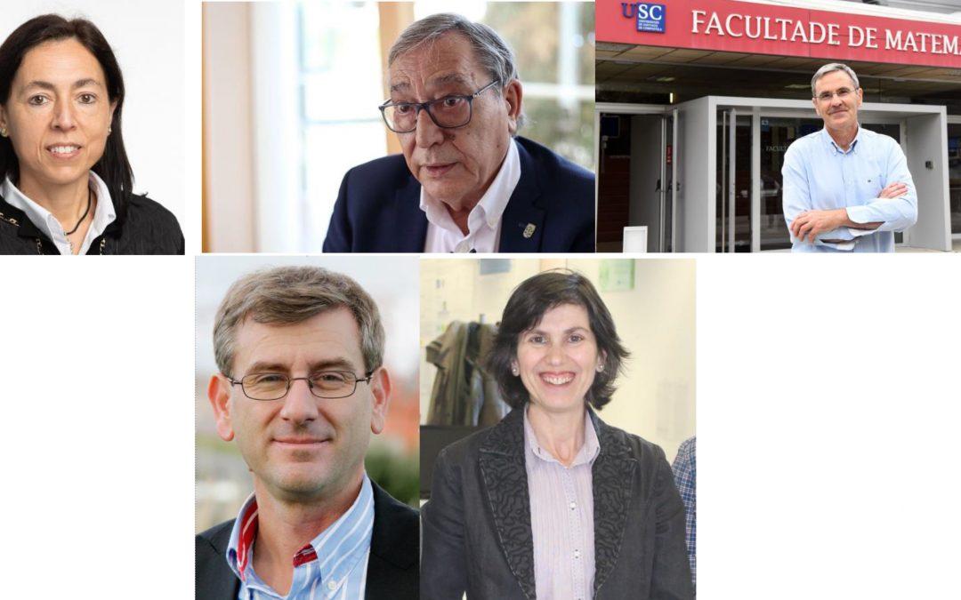 A RAGC recoñece a traxectoria de cinco científicas e científicos galegos das Universidades de Santiago, Coruña e Vigo coas Medallas de Investigación 2021